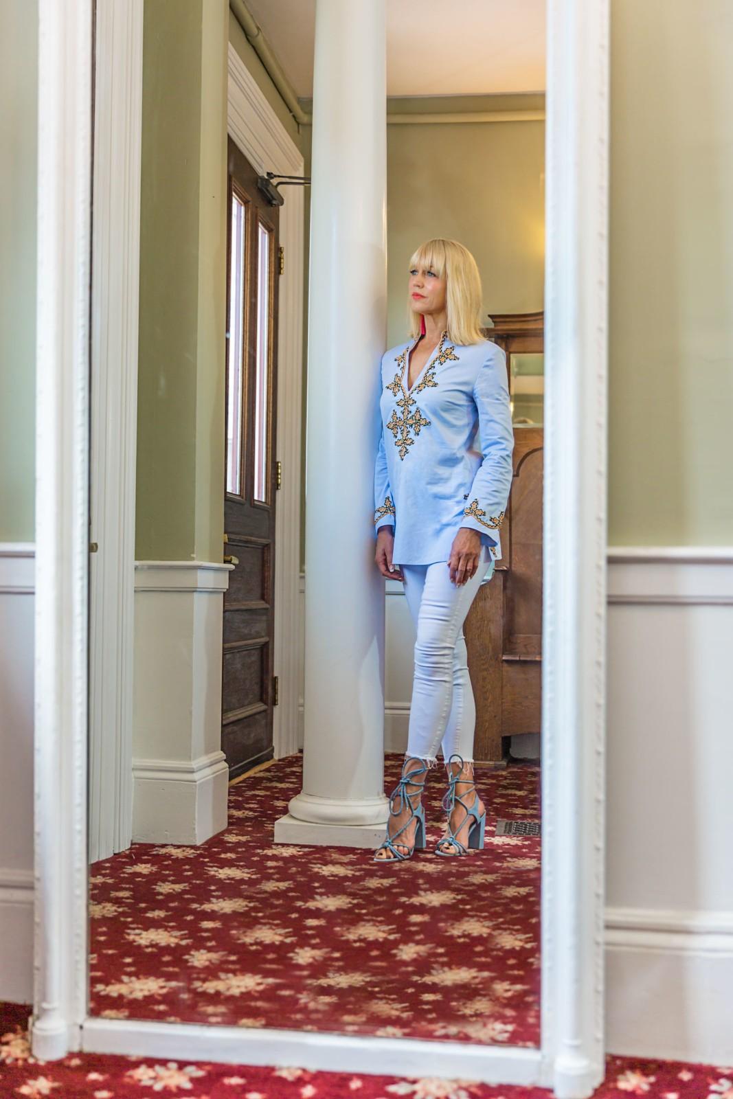 CatherineGraceO Essex Street Inn Lobby Mirror