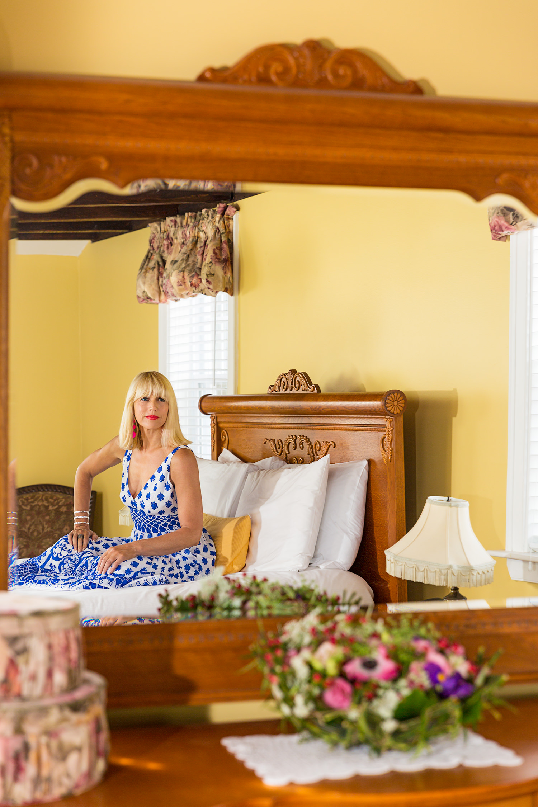 CatherineGraceO Essex Street Inn in Room Mirror
